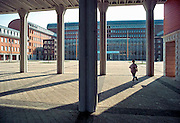Nederland, Den Bosch, 20-3-2010Het gebouw van de rechtbank, paleis van justitie.Architect Charles Vandenhove en Prudent de WISPELAEREFoto: Flip Franssen/Hollandse Hoogte