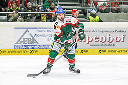 12.12.2014, Curt Fenzel Stadion, Augsburg, GER, DEL, Augsburger Panther vs Koelner Haie, 26. Runde, im Bild Brady Lamb #2 (Augsburger Panther) // during Germans DEL Icehockey League 26th round match between Augsburger Panther vs Koelner Haie at the Curt Fenzel Stadion in Augsburg, Germany on 2014/12/12. EXPA Pictures © 2014, PhotoCredit: EXPA/ Eibner-Pressefoto/ Kolbert<br /> <br /> *****ATTENTION - OUT of GER*****