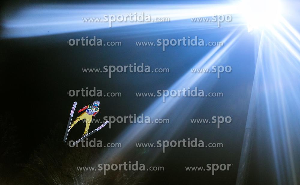 05.01.2015, Paul Ausserleitner Schanze, Bischofshofen, AUT, FIS Ski Sprung Weltcup, 63. Vierschanzentournee, Qualifikation, im Bild Marinus Kraus (GER) // during Qualification of 63rd Four Hills Tournament of FIS Ski Jumping World Cup at the Paul Ausserleitner Schanze, Bischofshofen, Austria on 2015/01/05. EXPA Pictures © 2015, PhotoCredit: EXPA/ JFK