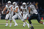 WEST LAFAYETTE, IN - SEPTEMBER 15: Drew Lock #3 of the Missouri Tigers runs the ball during the game against the Purdue Boilermakers at Ross-Ade Stadium on September 15, 2018 in West Lafayette, Indiana. (Photo by Michael Hickey/Getty Images) *** Local Caption *** Drew Lock NCAA Football - Purdue Boilermakers vs Missouri Tigers at Ross-Ade Stadium in West Lafayette, Indiana. Sports photographer by Michael Hickey