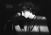 Belgie, Brussel, 15-9-1984Een live optreden van zangeres Jo Lemaire en haar band Flouze.Foto: Flip Franssen/Hollandse Hoogte