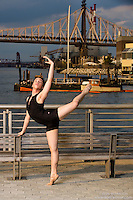 New York City Dance Photography- Dance As Art Gantry State Park with dancer Justin Torres