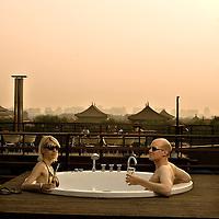 The Emperor bar in downtown  Beijing, China, on Monday  May 25, 2009/ Photographer: Bernardo De Niz/
