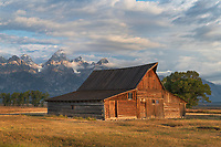 T.A. Moulton Barn on Mormon Row, Grand Teton National Park Wyoming