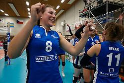 20180509 NED: Eredivisie Coolen Alterno - Sliedrecht Sport, Apeldoorn<br />Lynn Thijssen (8) of Sliedrecht Sport <br />©2018-FotoHoogendoorn.nl