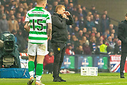 Celtic Manager Neil Lennon during the Betfred Scottish League Cup Final match between Rangers and Celtic at Hampden Park, Glasgow, United Kingdom on 8 December 2019.