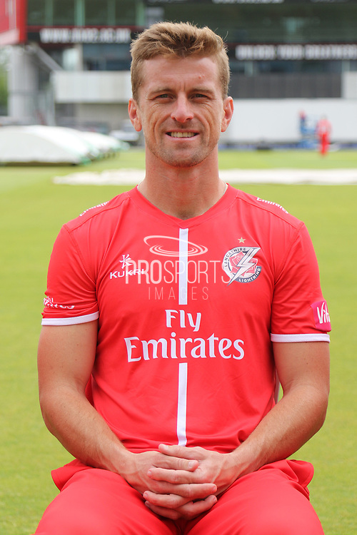 Dane Vilas during the Lancashire County Cricket Club T20 Media Day at the Emirates, Old Trafford, Manchester, United Kingdom on 1 June 2018. Picture by George Franks.