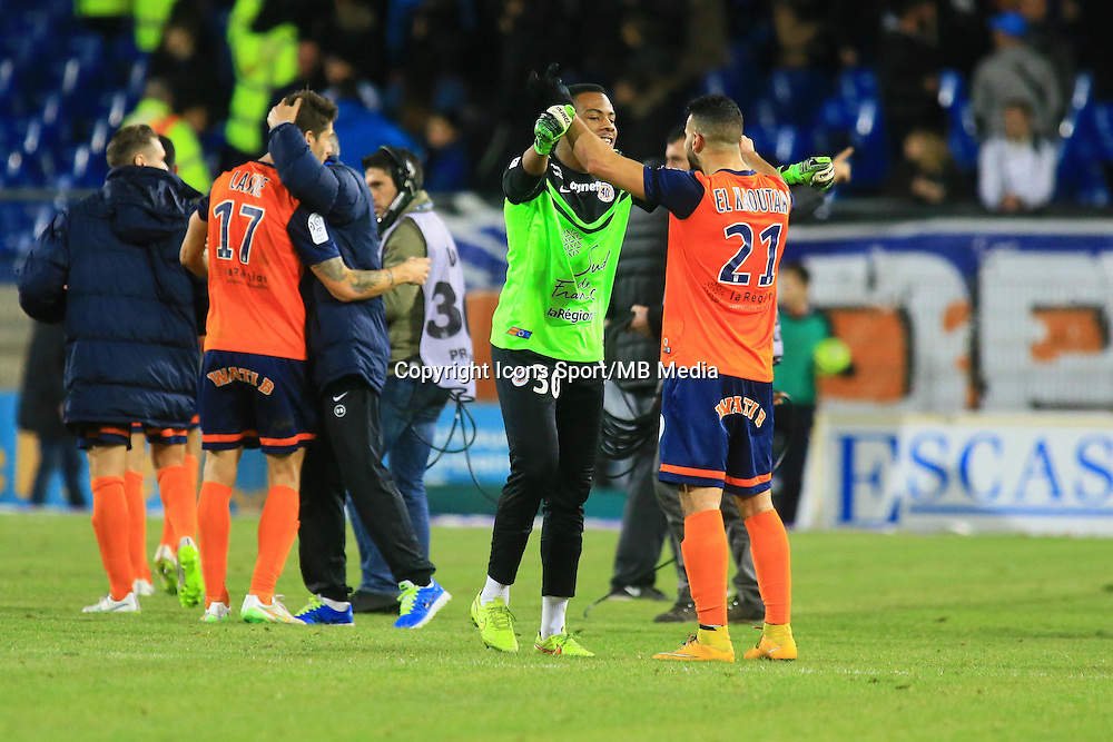 Joie Montpellier - 09.01.2015 - Montpellier / Marseille - 20eme journee de Ligue 1<br />Photo : Nicolas Guyonnet / Icon Sport