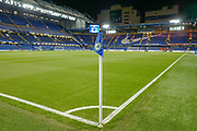 General view inside the ground during the EFL Cup 4th round match between Chelsea and Derby County at Stamford Bridge, London, England on 31 October 2018.