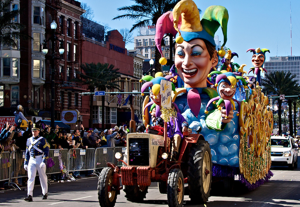 Rex Parade, Mardi Gras 2010, New Orleans