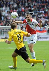 16-05-2010 VOETBAL: FC UTRECHT - RODA JC: UTRECHT<br /> FC Utrecht verslaat Roda in de finale van de Play-offs met 4-1 en gaat Europa in / Michael Silberbauer<br /> ©2010-WWW.FOTOHOOGENDOORN.NL