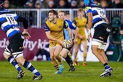 Will Cliff of Bristol Rugby in action - Rogan Thomson/JMP - 18/11/2016 - RUGBY UNION - Recreation Ground - Bath, England - Bath Rugby v Bristol Rugby - Aviva Premiership.