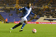 Birmingham City midfielder Jacques Maghoma during the The FA Cup third round match between Birmingham City and Bournemouth at St Andrews, Birmingham, England on 9 January 2016. Photo by Alan Franklin.