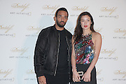 Mar 22, 2016 - Hong Kong, China - British singer Craig David (L) and model Gaile Lai attend a celebration activity of Davidoff X Art Basel on March 22, 2016 in Hong Kong, China.  (Credit Image: © Exclusivepix)