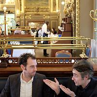 Jean Birnbaum et Raphaël Lioger