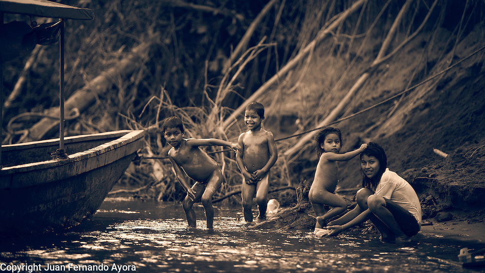 Images from the Yasuni National Park, photographed by Juan Fernando Ayora