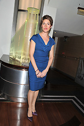 TAMSIN GREIG at the What's On Stage Awards 2012 held at the Prince of wales Theatre, London on 19th February 2012.