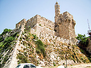David Tower in the old city of Jerusalem, Israel