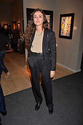 Barbara Casasola at the 2017 PAD Collector's Preview, Berkeley Square, London, England. 02 October 2017.