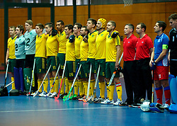 LEIZPIG - WC HOCKEY INDOOR 2015<br /> Foto: CZE v AUS (Pool A)<br /> Australia<br /> FFU PRESS AGENCY COPYRIGHT FRANK UIJLENBROEK