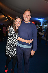 HENRY & JEMIMA DIMBLEBY at the World's Greatest Quiz Night in aid of the Quintessentially Foundation and Dimbleby Cancer Care held at the Riverside Parliament Panorama marquee at St Thomas' Hospital, Westminster Bridge Road, Londonon 15th September 2015.