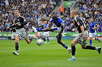 Photo: Tony Oudot/Richard Lane Photography. Leicester City v Derby County. Coca Cola Championship. 17/10/2009<br /> Lloyd Dyer of Leicester City gets in a shot