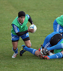Christchurch-Rugby, New Zealand Team Training