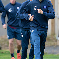 St Johnstone FC Training...11.09.15<br /> Murray Davidson pictured in training this morning ahead of tomorrow's game against Hamilton Accies<br /> Picture by Graeme Hart.<br /> Copyright Perthshire Picture Agency<br /> Tel: 01738 623350  Mobile: 07990 594431