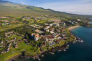 Aerial, Wailea Resort, Maui, Hawaii