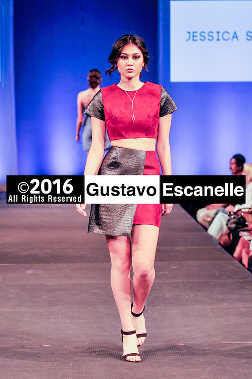 NEW ORLEANS FASHION WEEK 2016: NOFW6, New Orleans Fashion Week with Designer Jessica Sapera showcasing her design at the New Orleans Board of Trade on Thursday March 17, 2016. &copy;2016, Gustavo Escanelle, All Rights Reserved. &copy;2016, MOI MAGAZINE, All Rights Reserved.<br /> <br /> #nofw6
