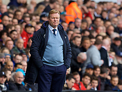 LONDON, ENGLAND - Sunday, March 5, 2017: Everton's manager Ronald Koeman during the FA Premier League match against Tottenham Hotspur at White Hart Lane. (Pic by David Rawcliffe/Propaganda)