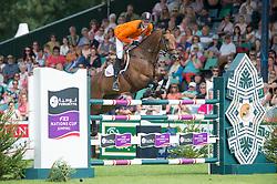 Schuttert Frank (NED) - Winchester HS<br /> Furusiyya FEI Nations Cup<br /> International Horse Show - Hickstead 2014<br /> © Hippo Foto - Jon Stroud