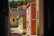 Argostoli cityscape Photographed on Cephalonia, Ionian Islands, Greece