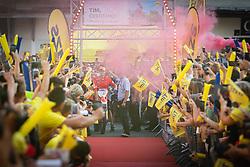 Tim Gajser ariving to his reception during sprejem Tima Gajsreja, on Avgust 27, 2019 in Maribor, Slovenia. Photo by Blaž Weindorfer / Sportida