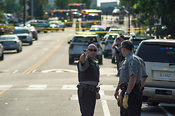 June 14, 2017 - Five people taken to the hospital after a shooting in a baseball field, in Alexandria VA, where Republican members of Congress were practising for a charity game. (Credit Image: © Dimitrios Manis via ZUMA Wire)
