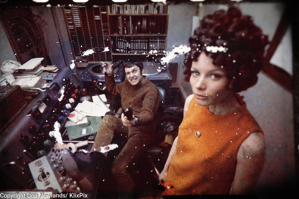 Big G, Glenn Walters, DJ, man; entertainer; woman; broadcast; talent; music; Toronto,1967-69