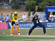Kent CCC v Hampshire CCC, Vitality Blast T20, The County Ground, Beckenham, 13 July  2018. <br /> <br /> <br /> Image by Keith Gillard