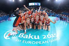 20150619 AZE: 1ste European Games Baku Servie - Nederland, Baku