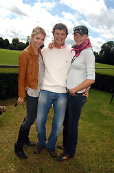 Left to right,  the COUNTESS OF MORNINGTON, JACK KIDD and JODIE KIDD at a charity polo match organised by Jaeger Le Coultre at Ham Polo Club, Richmond, Surrey on 29th June 2007.<br /><br />NON EXCLUSIVE - WORLD RIGHTS