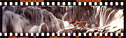November 1987  •  Dunn's River Falls, Ocho Rios, Jamaica  •  Salem Cigarettes adv assignment  •  shot on custom Nikonwide (24x108mm) with 65mm f5.6 Schneider lens  •  Shirlene Foss- model released 11/20/87