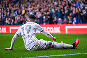Leeds United midfielder Pablo Hernandez (19) in action during the EFL Sky Bet Championship match between Leeds United and Huddersfield Town at Elland Road, Leeds, England on 7 March 2020.