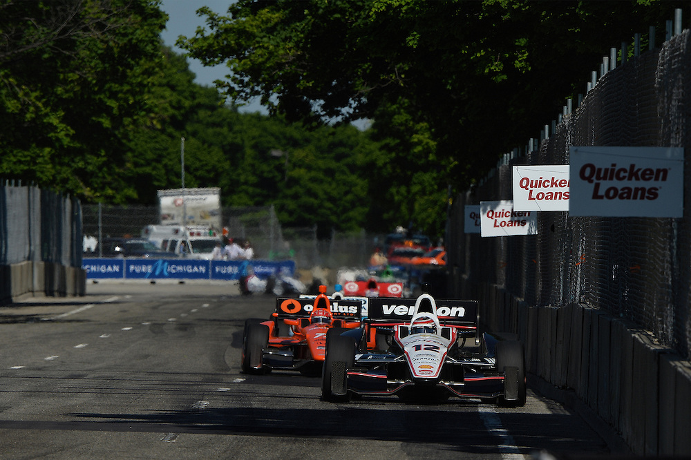 Will Power, The Raceway at Belle Isle Park, Detroit, MI USA 6/1/2014