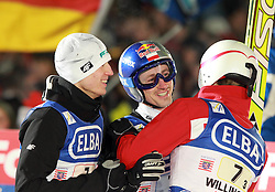 29.01.2011, Mühlenkopfschanze, Willingen, GER, FIS Skijumping Worldcup, Team Tour, Willingen, im Bild KAMIL STOCH ADAM MALYSZ I STEFAN HULA // during FIS Skijumping Worldcup, Team Tour, willingen, EXPA Pictures © 2011, PhotoCredit: EXPA/ Newspix/ JERZY KLESZCZ +++++ATTENTION+++++ - FOR AUSTRIA (AUT), SLOVENIA (SLO), SERBIA (SRB) an CROATIA (CRO), SWISS SUI and SWEDEN SWE CLIENT ONLY