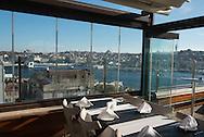 Turkey. Istambul. elevated view on the Golden Horn and the port. la Corne d Or et le port vue d'en haut