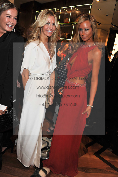 Left to right, MELISSA ODABASH and LADY VICTORIA HERVEY at a party hosted by Roberto Cavalli to celebrate his new Boutique's opening at 22 Sloane Street, London followed by a party at Battersea Power Station, London SW8 on 17th September 2011.