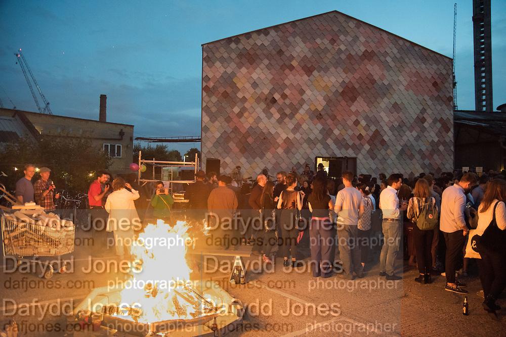 Assemble 5th Birthday party. Sugarhouse Studios. Stratford. London. 19 June 2015
