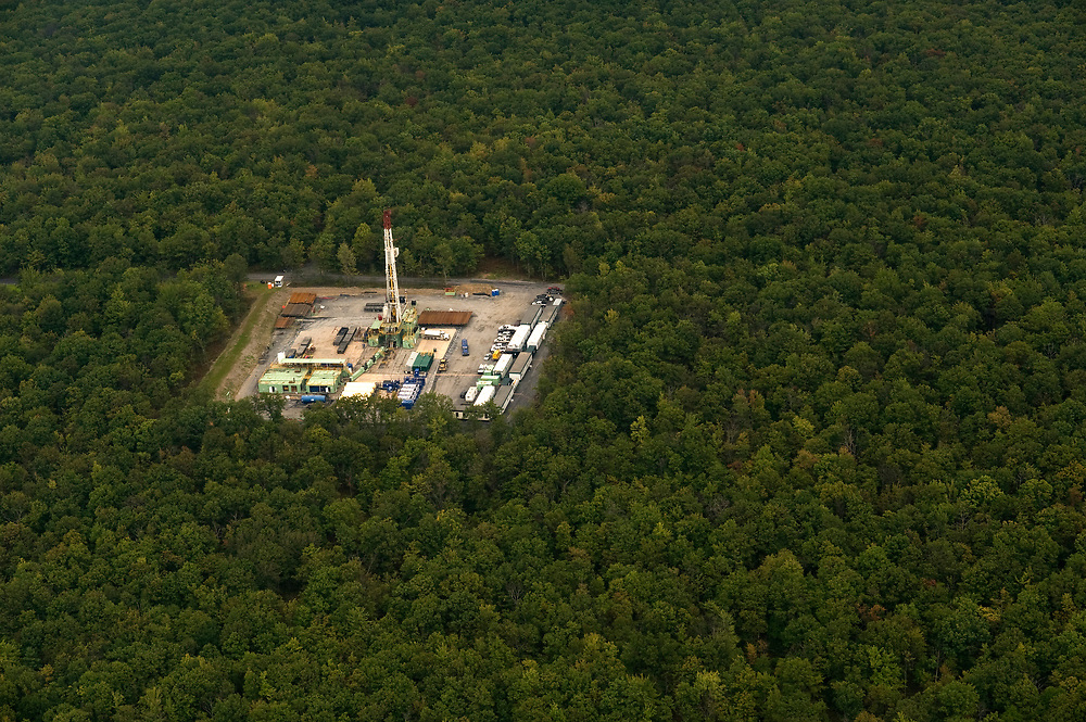 Marcellus Shale drilling in Pennsylvania's forests