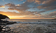 Sunset Pacific Coast