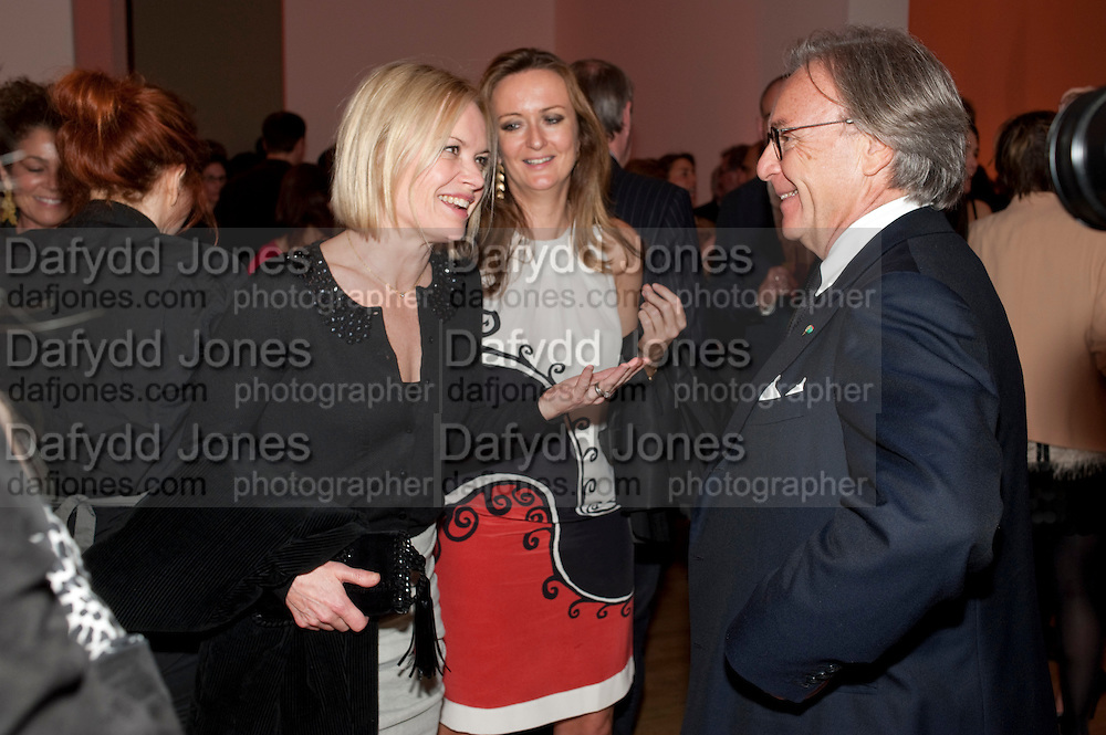 MARIELA FROSTRUP; LUCY YEOMANS; DIEGO LA VALLE, TODÕS Art Plus Drama Party 2011. Whitechapel GalleryÕs annual fundraising party in partnership with TODÕS and supported by HarperÕs Bazaar. Whitechapel Gallery. London. 24 March 2011.  -DO NOT ARCHIVE-© Copyright Photograph by Dafydd Jones. 248 Clapham Rd. London SW9 0PZ. Tel 0207 820 0771. www.dafjones.com.<br /> MARIELA FROSTRUP; LUCY YEOMANS; DIEGO LA VALLE, TOD'S Art Plus Drama Party 2011. Whitechapel Gallery's annual fundraising party in partnership with TOD'S and supported by Harper's Bazaar. Whitechapel Gallery. London. 24 March 2011.  -DO NOT ARCHIVE-© Copyright Photograph by Dafydd Jones. 248 Clapham Rd. London SW9 0PZ. Tel 0207 820 0771. www.dafjones.com.