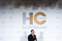 21.11.2016, Parlament, Wien, AUT, FPÖ, Feier anlässlich des 10 jährigen Jubiläums HC Strache´s als Klubobmann. im Bild Klubobmann FPÖ Heinz-Christian Strache // Leader of the parliamentary group FPOe Heinz Christian Strache during 10 years anniversary leader of the parliamentary group of the austrian freedom party in Vienna, Austria on 2016/11/21. EXPA Pictures © 2016, PhotoCredit: EXPA/ Michael Gruber